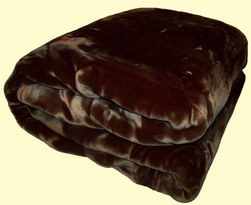 wonu-korean-quality-trix-solid-mink-blanket-chocolate-brown-king-size