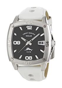 Buy Tommy Bahama Relax Mens RLX1104 Sport Analog Black Dial Water Resistant Watch by Tommy Bahama