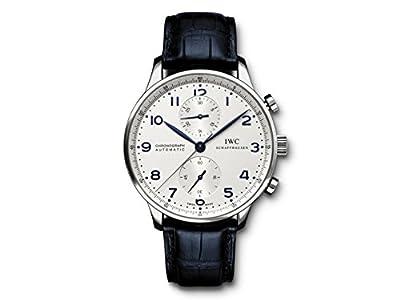 IWC 腕時計 ポルトギーゼ クロノグラフ シルバー IW371446 メンズ [並行輸入品]