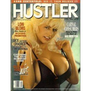 Hustler Adult Magazine: April 1989 (Wet T Contest)