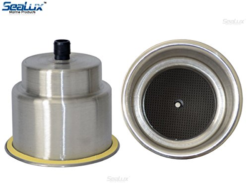(2pcs) SeaLux Stainless Steel Recessed Cup Drink Holder for Marine Boat RV Camper