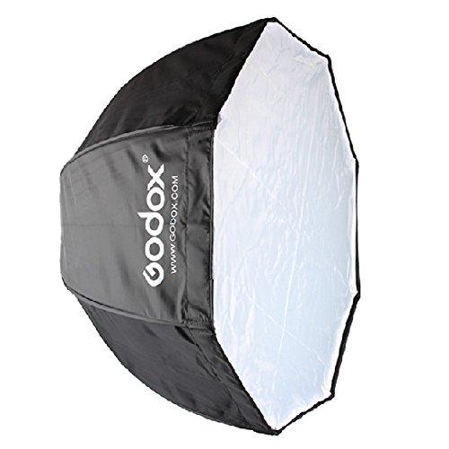 Godox 120 cm / 47.2in Portatile Octagon Softbox Ombrello Brolly Riflettore per Speedlight