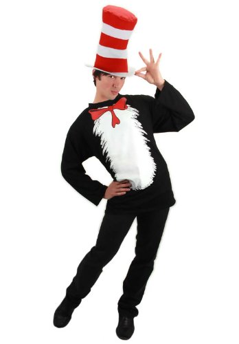 Cat in the Hat Adult Costume Kit Size: Large / Extra Large