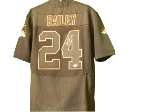Champ Bailey Autographed Denver Broncos Jersey at Amazon.com