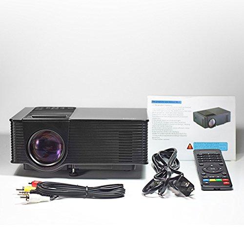B2cool 1600 lumens hd lcd mini video projector multimedia for Pico projector accessories
