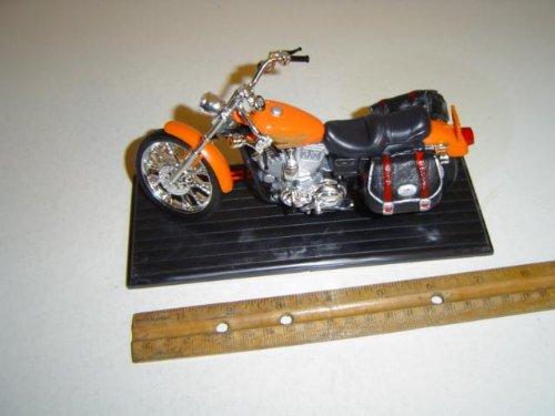 Classic Motorcycle 004 Scale 1:13 Orange Diecast
