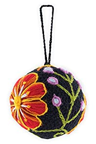 Tey-Art Hand Embroidered Gabrielle Fair Trade Ornament