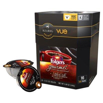 Keurig Vue Cup Folgers Black Silk - 16 Pack front-605662
