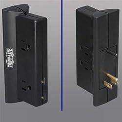 TRIPP LITE TLP4BK 4 Outlet Surge Suppressor