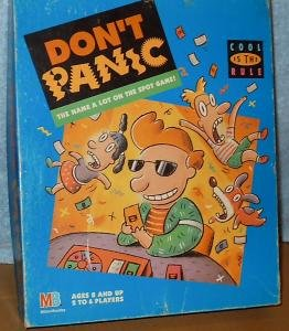 Don't Panic; Cool Is the Rule; the Name a Lot on the Spot Game - Buy Don't Panic; Cool Is the Rule; the Name a Lot on the Spot Game - Purchase Don't Panic; Cool Is the Rule; the Name a Lot on the Spot Game (Milton-Bradley, Toys & Games,Categories,Games,Board Games,Word Games)