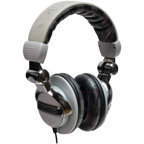 Ecko Unlimited Eku-Frc-Pldgry Ecko Force Over-The-Ear Headphones With Microphone (Plaid Gray)