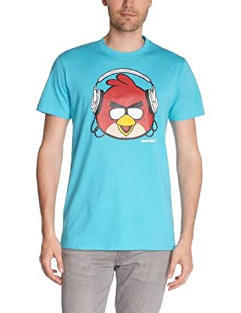 Angry Birds - t-shirt manches courtes - homme - turquoise - s