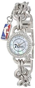 Game Time Ladies NBA-CHM-PHI Charm NBA Series Philadelphia 76Ers 3-Hand Analog Watch by Game Time
