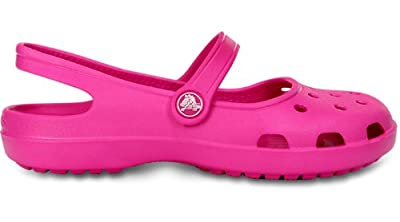 Crocs Shayna Womens Womens Footwear, Size: 10 B(M) US Womens, Color: Neon Magenta