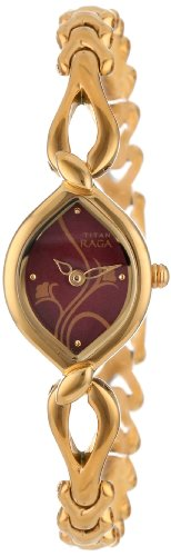 Titan Raga Analog Red Dial Women's Watch – NE2455YM02