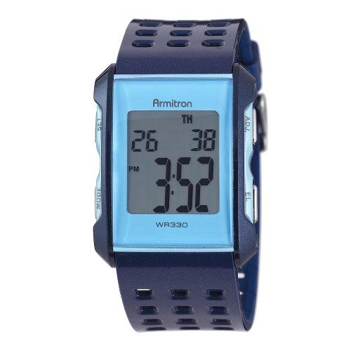 sport watches armitron s 408177blbl square