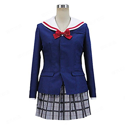 Vicwin-one ISUCA Shimazu Sakuya Uniform Cosplay Costume Outfits
