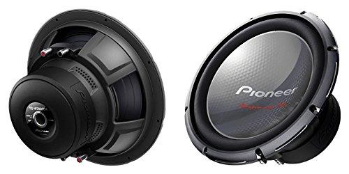 """New Pair Pioneer Ts-W3003D4 1200 Watt 12"""" Car Audio Subwoofer 4 Ohm Dvc Bass Sub"""