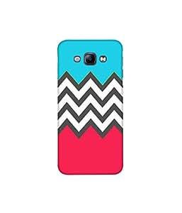 Kolor Edge Printed Back Cover For Samsung Galaxy A8 - Multicolor (4391-Ke10624SamA8Sub)
