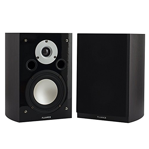 Fluance XL7S-DW High Performance Two-way Surround Sound Speakers for Home Theater and Music Systems (Dark Walnut)