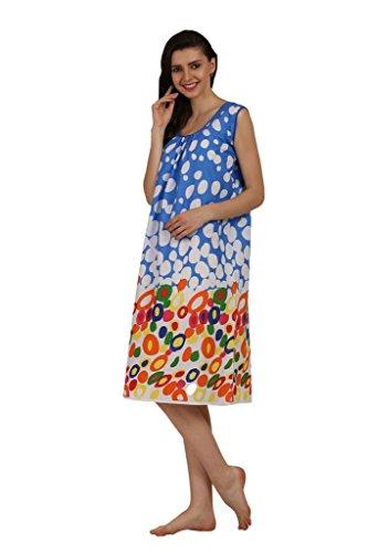 43% OFF on Miavii Women s Printed Cotton Short Nighty on Amazon ... e99b68eb0