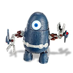 Monsters vs Aliens the Clone robot Action Figure