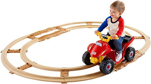 Fisher-Price Power Wheels Kawasaki Lil' Quad with Track [Amazon Exclusive] (Fisher Price 6volt Battery compare prices)