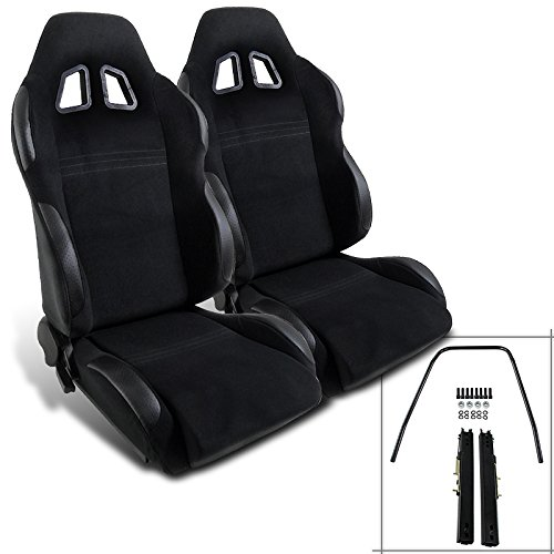Spec-D Tuning RS-501-2 Racing Seat (Racing Seats For 98 Dodge Neon compare prices)