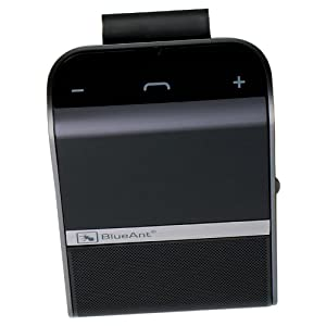 BlueAnt S4 Voice Controlled Car Speakerphone (Black)