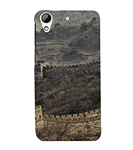 Great wall of chinna Back Case Cover for HTC Desire 728g Dual::HTC Desire 728G::HTC Desire 728
