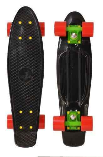 Ridge Skateboards Mix it Up Retro Cruiser - Rasta, 22 Inch (Rasta Bushings compare prices)