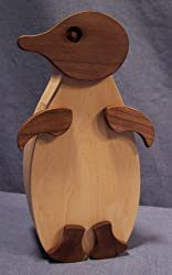 Wooden Bank Penguin