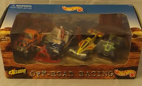 Hot Wheels - Exclusive Off-Road Racing Set (4 Vehicles)