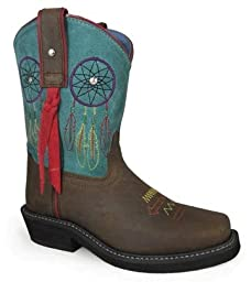 Smoky Mountain Child\'s Dreamcatcher Square Toe Boots