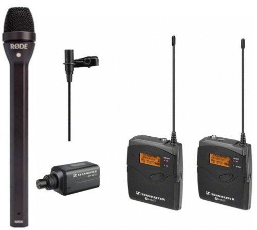 Sennheiser Wireless Ew 100-Eng G3 Combo System And Rode Reporter Dynamic Microphone For Interviews And Broadcasting
