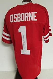 Signed Tom Osborne Jersey - JSA W387756 - Autographed College Jerseys