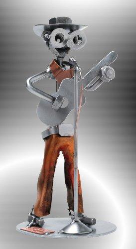 Boystoys-HK-Design-Schraubenmnnchen-Country-Gitarre-Cowboy-Metall-Art-Geschenkideen-Deko-Skulptur-Musiker-Musikinstrumente-hochwertige-Original-Figuren-handgefertigt