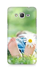 Amez designer printed 3d premium high quality back case cover for Samsung Galaxy Grand Prime (Feet)