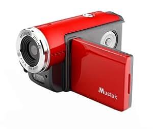 Mustek DV316L 3MPixel Digital Camcorder - Red