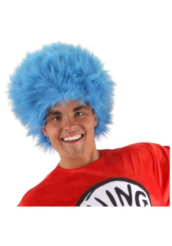 elope Dr Seuss Cat in the Hat Thing 1 & Thing 2 Wig