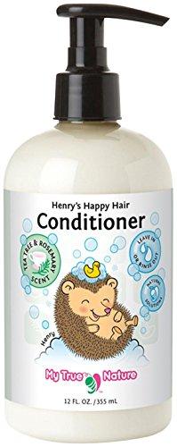 My True Nature Henry's Happy Hair Conditioner - Rosemary/Tea Tree - 12 oz - 1