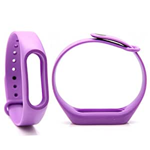 Evana Colorful Replacement Band / Strap For Xiaomi Mi Band (Orange, Blue, Green, Purple, Etc.) Pack of 1 without machine