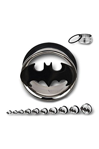Tappo estensore, Logo di Batman Steel, colore: 20mm, cod. IC101909-0007