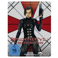 Resident Evil: Retribution (Steelbook) [Blu-ray 3D]