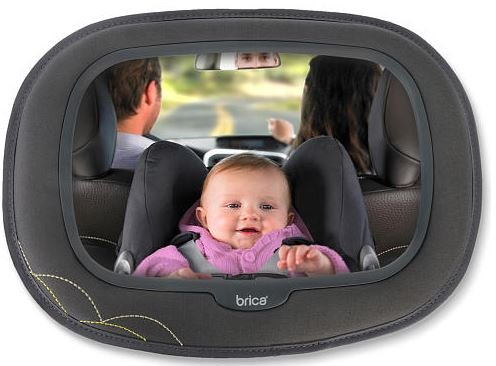 Brica Baby in Sight Mega Mirror - Grey - 1