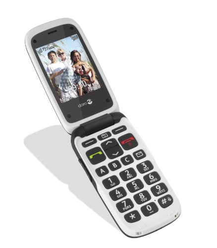 doro phone easy 612 gsm sim free mobile phone black. Black Bedroom Furniture Sets. Home Design Ideas