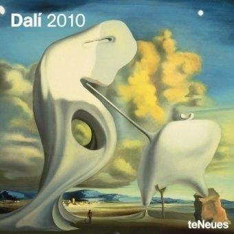 2010 Salvador Dali Wall Calendar