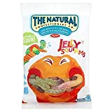 The Natural Confectionery Co Jelly Squirms 180G