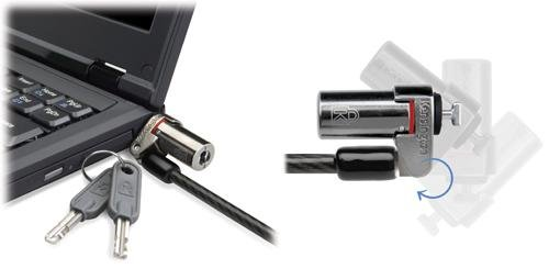 Kensington K64590Us Microsaver Ds Keyed Ultra-Thin Notebook Lock front-339903