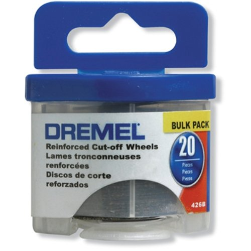 Dremel 426B 20 Piece 1-1/4-Inch Reinforced Rotary Tool Cut-Off Wheels